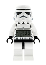 LEGO Star Wars Storm Trooper Minifigure Clock Toys and Gadgets
