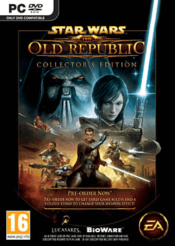 Star Wars: The Old Republic Collector's Edition PC Games Cover Art