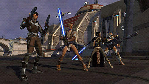 MMORPG action in Star Wars: The Old Republic