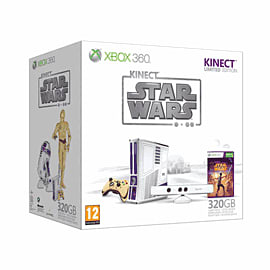 Limited Edition Star Wars Xbox 360 320GB with Kinect and Kinect Star Wars Game Xbox 360