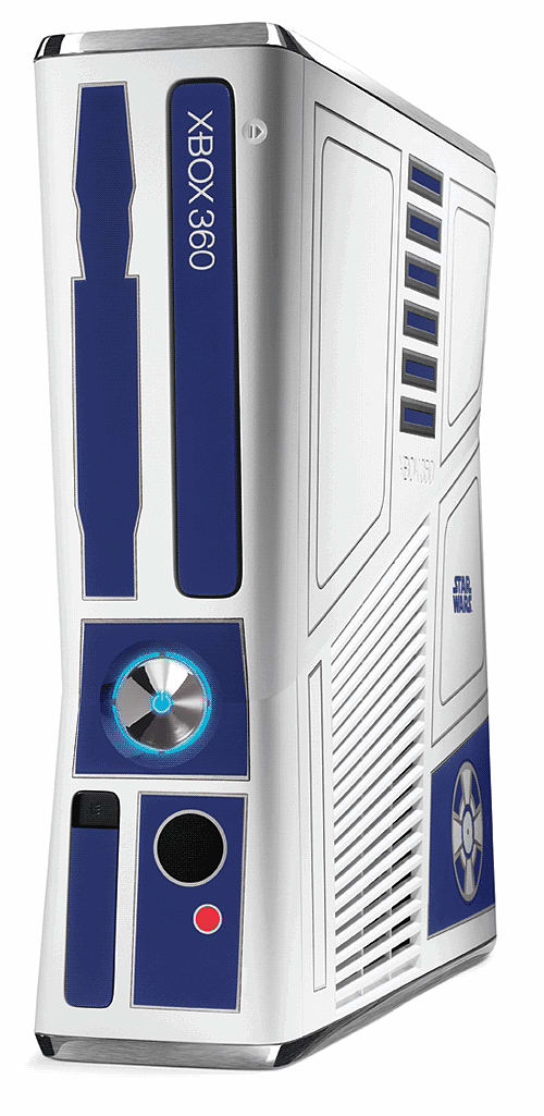 The Limited Kinect Star Wars Xbox 360 R2-D2 console at GAME