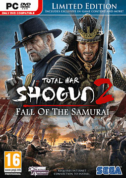 Shogun 2: Fall of the Samurai Limited Edition PC Games Cover Art