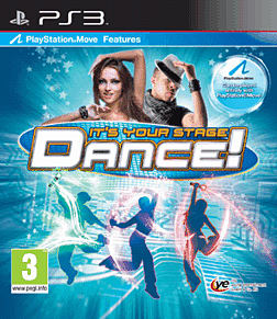 Dance! It's your Stage PlayStation 3 Cover Art