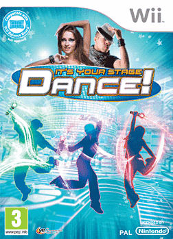 Dance! It's your Stage Wii Cover Art