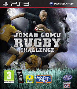 Jonah Lomu Rugby Challenge PlayStation 3 Cover Art