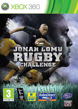 Jonah Lomu Rugby Challenge Xbox 360 Cover Art