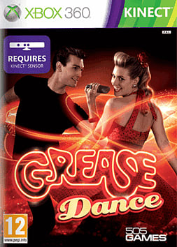 Grease Dance - Requires Kinect Xbox 360 Kinect Cover Art