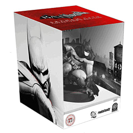 Batman Arkham City Collectors Edition Xbox-360 Cover Art