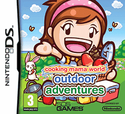 Cooking Mama World Outdoor Adventures DSi and DS Lite Cover Art