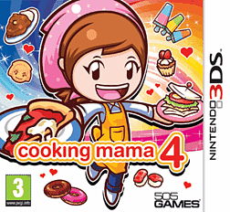 Cooking Mama 4 3DS Cover Art