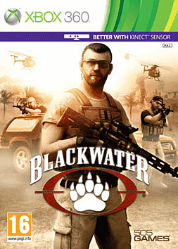 Blackwater Kinect Xbox 360 Kinect Cover Art