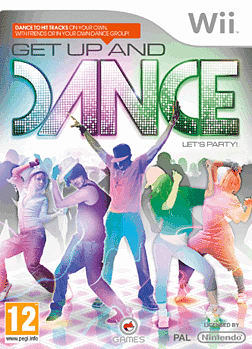 Get Up and Dance Wii Cover Art