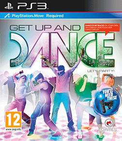 Get Up and Dance (Requires Move) Playstation 3 Cover Art