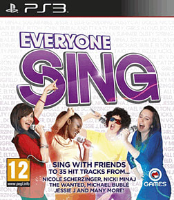 Everyone Sing PlayStation 3 Cover Art