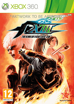 King of Fighters XIII Xbox 360 Cover Art