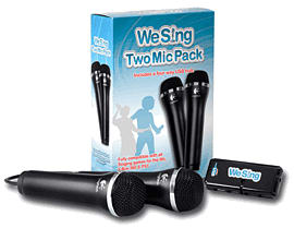 We Sing Two Mic Pack Accessories