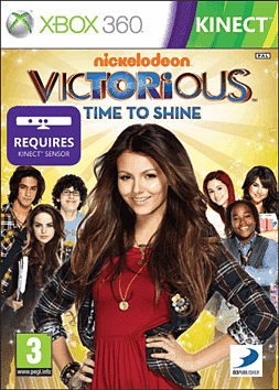 Victorious: Time to Shine Xbox 360 Kinect Cover Art