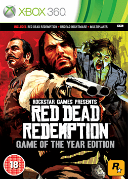 Red Dead Redemption GOTY Xbox 360 Cover Art
