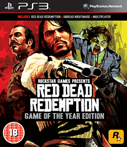 Red Dead Redemption GOTY PlayStation 3 Cover Art