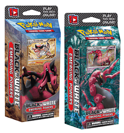 Pokemon Black and White Emerging Power Deck Toys and Gadgets