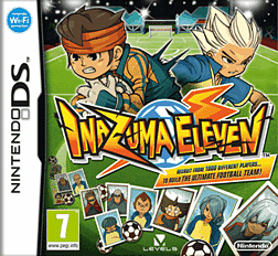 Inazuma Eleven DSi and DS Lite Cover Art