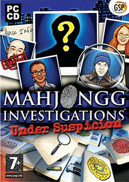 Mahjongg Investigations: Under Suspicion PC Cover Art