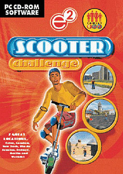 Scooter Challenge PC Cover Art