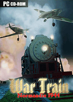 WAR TRAIN – Normandy 1944 PC Cover Art
