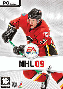 NHL 2009 PC Cover Art