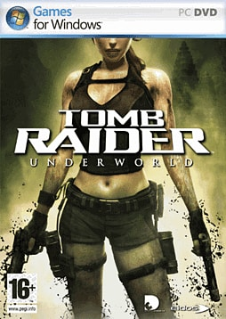 Tomb Raider: Underworld PC Cover Art