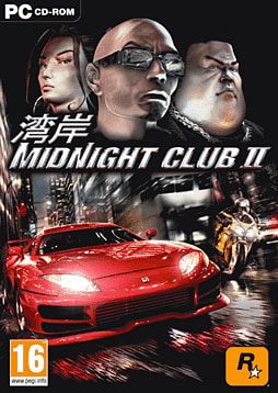 Midnight Club 2 PC Cover Art