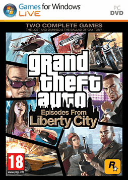 Grand Theft Auto: Episodes from Liberty City PC Cover Art