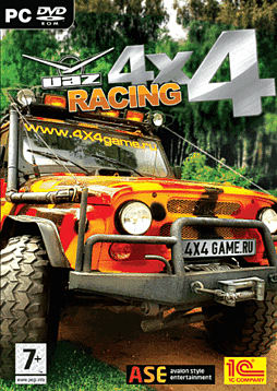 UAZ Racing 4x4 PC Cover Art