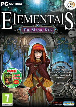 Elementals: The Magic Key PC Cover Art