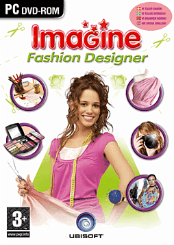 Imagine: Fashion Designer PC Cover Art