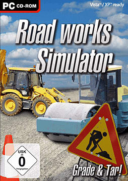 Road Works Simulator PC Cover Art