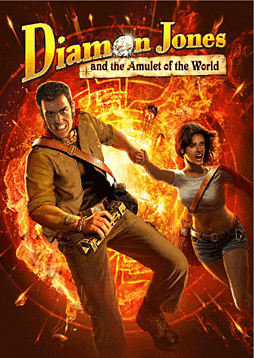 Diamon Jones: Amulet of the World PC Cover Art