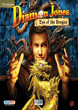 Diamon Jones: Eye of the Dragon PC Cover Art