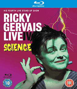 Ricky Gervais Live IV: Science Blu-ray