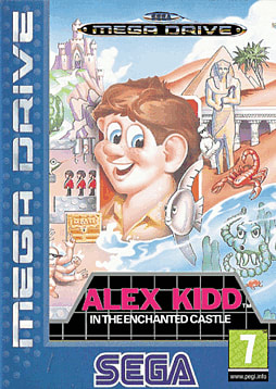 Alex Kidd in the Enchanted Castle PC Cover Art