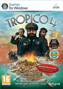 Tropico 4 Special Edition PC Games Cover Art