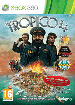Tropico 4 Special Edition Xbox 360 Cover Art