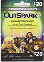 Outspark SparkCash Gift Card - £20 Gifts