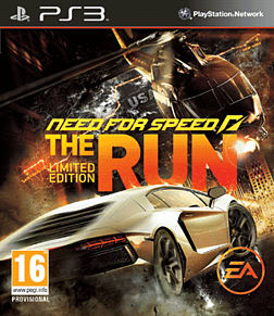 Need for Speed: The Run Limited Edition Playstation 3 Cover Art