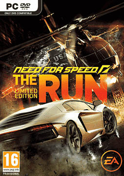 Need for Speed: The Run Limited Edition PC Games Cover Art