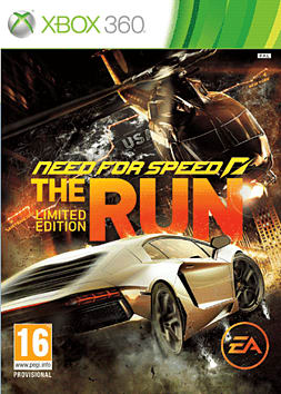 Need for Speed: The Run Limited Edition Xbox 360 Cover Art