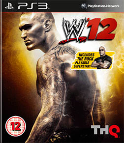 WWE 12: The Rock Edition Playstation 3 Cover Art