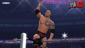 WWE 12: The Rock Edition screen shot 1