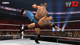 WWE 12: The Rock Edition screen shot 9