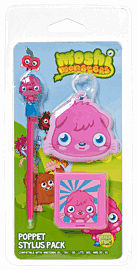 Moshi Monsters Poppet Stylus Pack Accessories